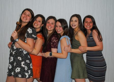 teens dressed up at a BBYO Regional Event