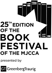 25th Edition of the Book Festival black logo