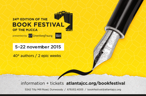 http://www.atlantajcc.org/interior-pages/arts-and-culture-book-festival-2015/