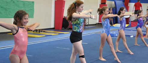 Recreational Gymnastics Cles